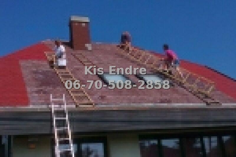 Tetőcserép tisztítása házilag